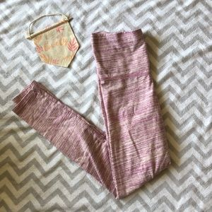 Aerie pink skinny leggings size small